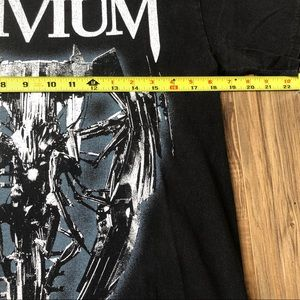 Hanes Shirts - Trivium T Shirt Medium Concert Album Metal